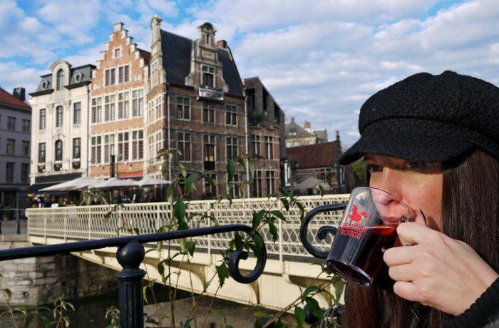 Gent, Belgien - First Morning