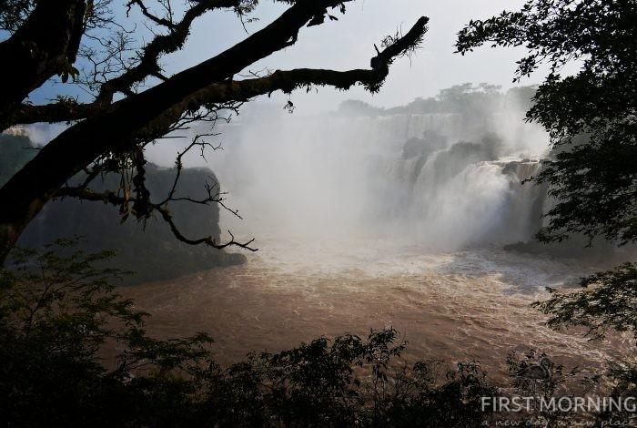 Sao Paolo, Iguazufallen, Patagonien, Eldslandet, Buenos Aires - ett fantastiskt juläventyr med diverse missöden! - First Morning