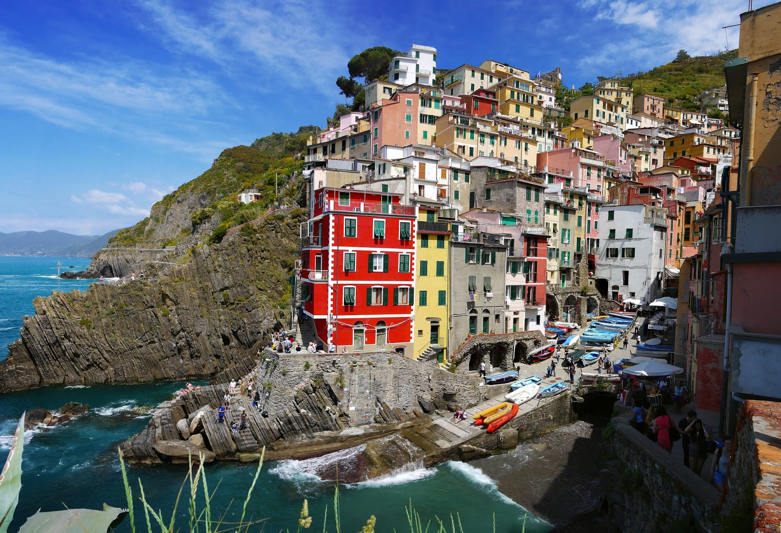 Cinque Terre, Italien - First Morning
