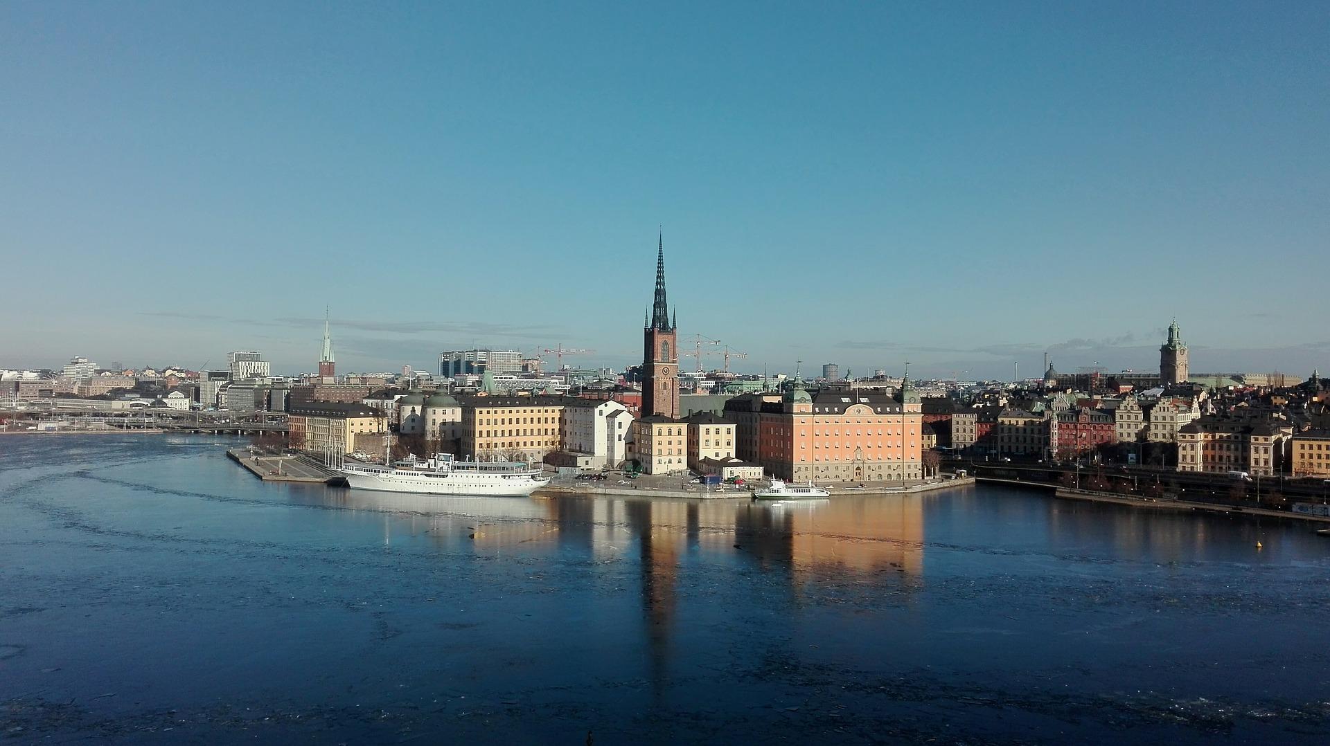 Just nu är vi i: Stockholm, Sverige