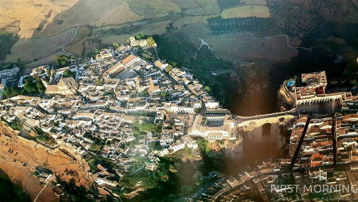 Ronda, Spanien - First Morning