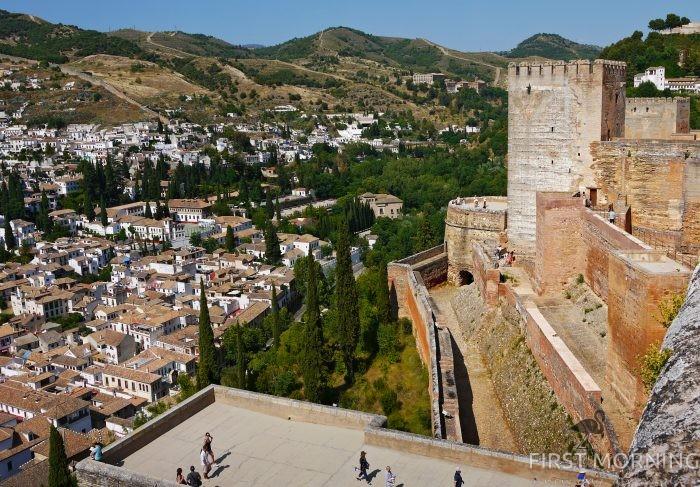 Granada, Spanien - morernas sista fäste. - First Morning