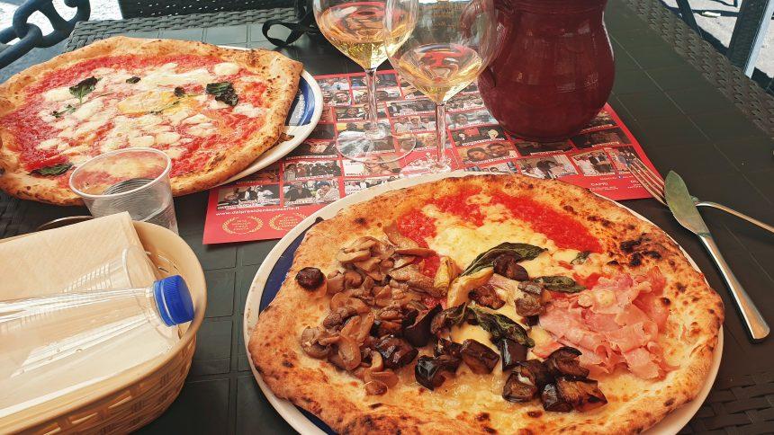 Naples Dal Presidente pizza