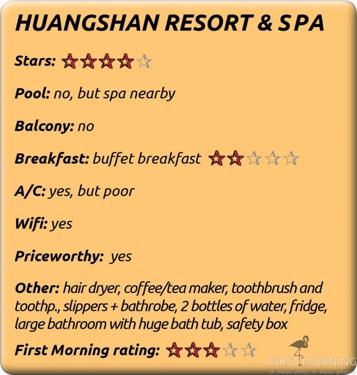 Yellow Mountains: Huangshan Resort & Spa